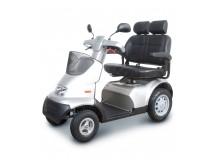 scooter electrique brise s4 siège double blanc