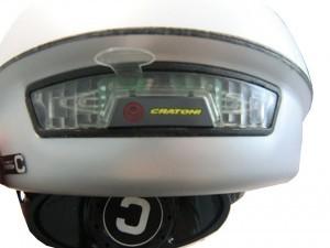 éclairage casque Cratoni