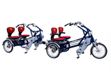 Tricycles multiplaces