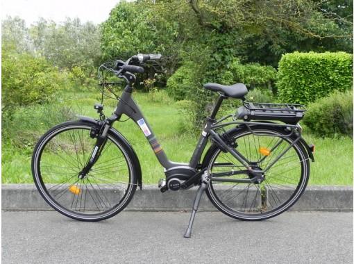 Vélo électrique E-CITY Bosch N7 - 400 W-taille 45- Déstockage
