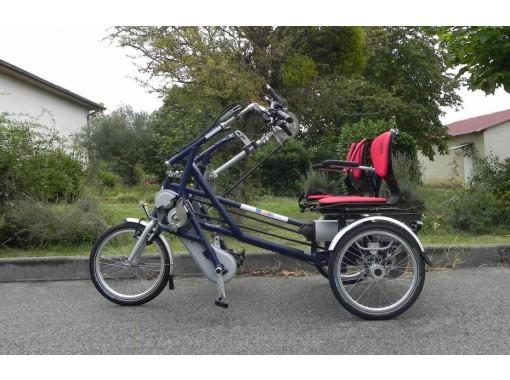 Tricycle Fun-2-GO Cote à Cote Handbike