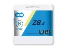 chaîne KMC Z8 argent/gris