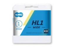 chaîne KMC HL1 Wide argent