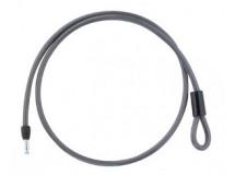 Câble spirale à clipser p Antivol cadre
