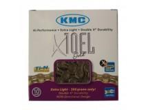 chaîne renforcée KMC X-10-EL-or