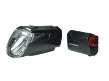 set éclairage pile LED Set Trelock I-go