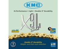 Chaîne KMC X-9L- gold light