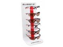 présentoir 6 lunettes soleil Swisseye
