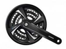 pédalier TX 801 42/32/22 170mm noir