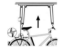 plafonnier vélo