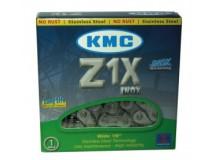Chaîne KMC mono-vitesse Z1 X Inox