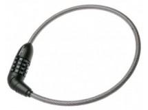 Antivol câble Trelock 65 cm sans supp
