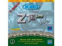 Chaîne KMC Z 1HX p.moyeu vit. int.