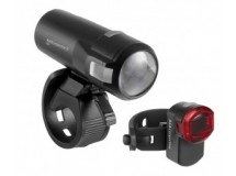 set éclairage LED accu AXA Compactline35
