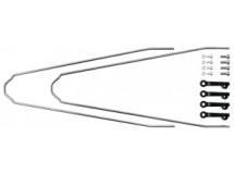 Kit tringles p.garde-boues SKS Velo 42