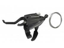 manette/lev. Shimano ST-EF 500 2-doigts