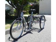 Tricycle Classic Escapade ultra stable avec différentiel  + un dérailleur  Nexus 3 - frein rétropédalage