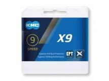 chaîne KMC X9 EPT