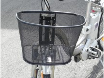 Panier Vélo Avant Fabriqué en Finland + Fixation en Inox