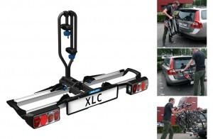 porte-vélos XLC Azura Xtra pour attelage