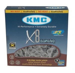 chaîne KMC X-8 EPT anticorrosion