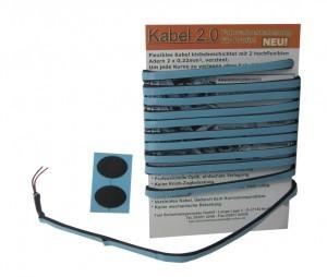 câble éclairage auto-collant 2.0