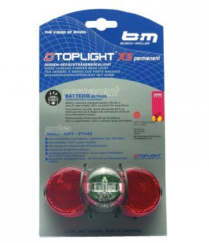Eclairage AR b&m D-Toplight XS permanent