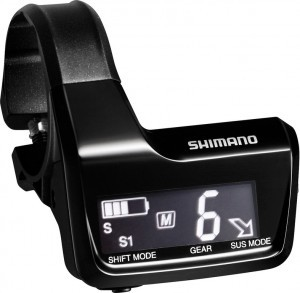 Display Information Shimano DeoreXT Di2