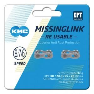 missinglink KMC 7/8R EPT Silber