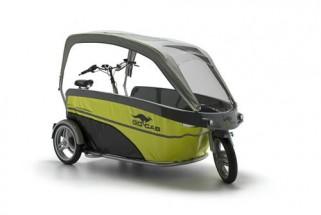 GoCab Vélo taxi pour le transport d'enfants