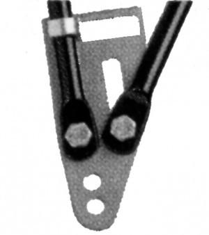 Plaques terminales tringles Pletscher