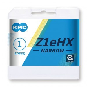chaîne KMC Z1eHX Narrow argent