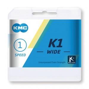 chaîne KMC K1 Wide argent/noir