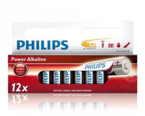 Pile Philips Power Alkal. Mignon LR6