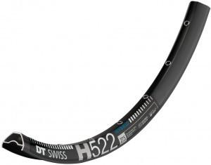 jante DT Swiss H 522 27,5'/25mm noir