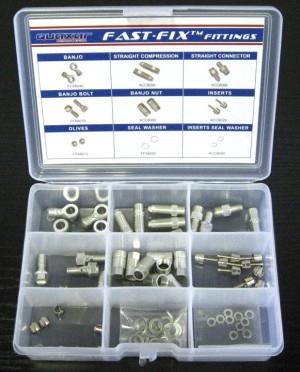 kit pièces rechange p. freins à disque