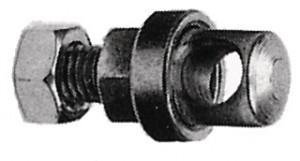 Boulon de tringle,galvanisé M 5 x 10 mm