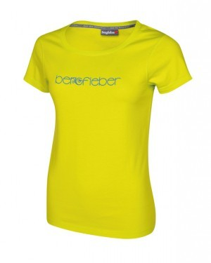 T-Shirt Bergfieber LOGO femme