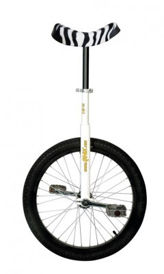 Monocycle QU-AX 20' Luxus blanc