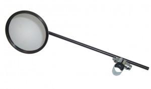 Miroir noir mat
