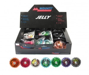 mini-sonnette Jelly corps alu