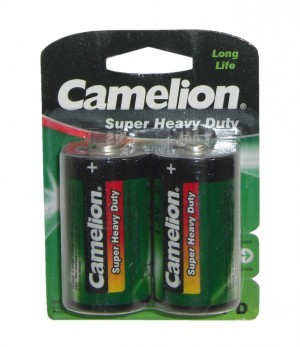 pile Camelion Green Mono R20