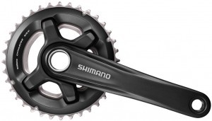 péd. Shimano MT700 26/36 dents 175mm