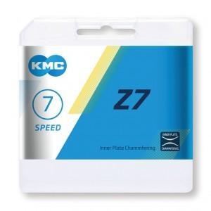 chaîne KMC Z7 gris/marron