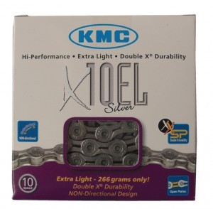 chaîne renforcée KMC X-10-EL-Silver