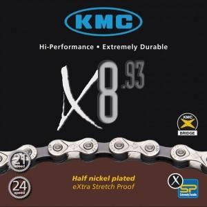 Chaîne KMC X-8-93
