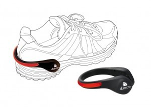 clip pour chaussures, LED rouge Lunivo