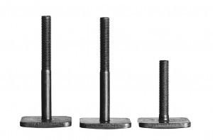 Adaptateur Thule  T-Track (3 pièces)