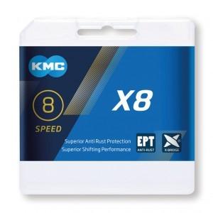 chaîne KMC X8 EPT antioxydant