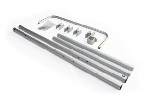 set tubes de cadre châssis Burley Bee